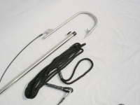 "Flying Gaff with Stainless Steel Handle and 6"" Rigged Hook"