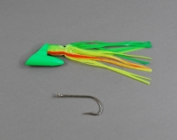 Deep Six Pirate Plug 4oz Unrigged Green Pumpkinseed