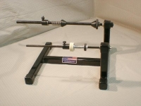 Super Spooler Heavy Duty Line Spool Holder Black