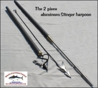 STINGER harpoon 2 piece aluminum