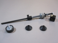 Tension rod assembly, upgrade kit for upgradable table top line wizard
