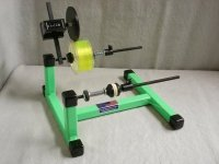 LINE WINDER with ANALOG LINE COUNTER green