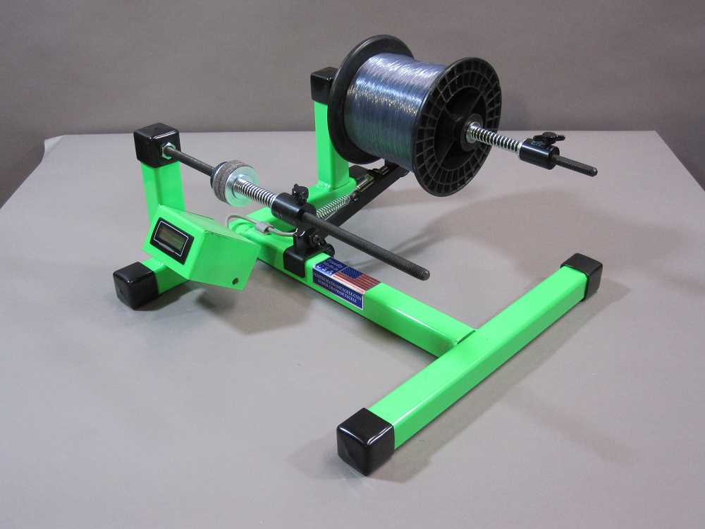 Line Winder Green With Digital Line Counter South Chatham Tackle