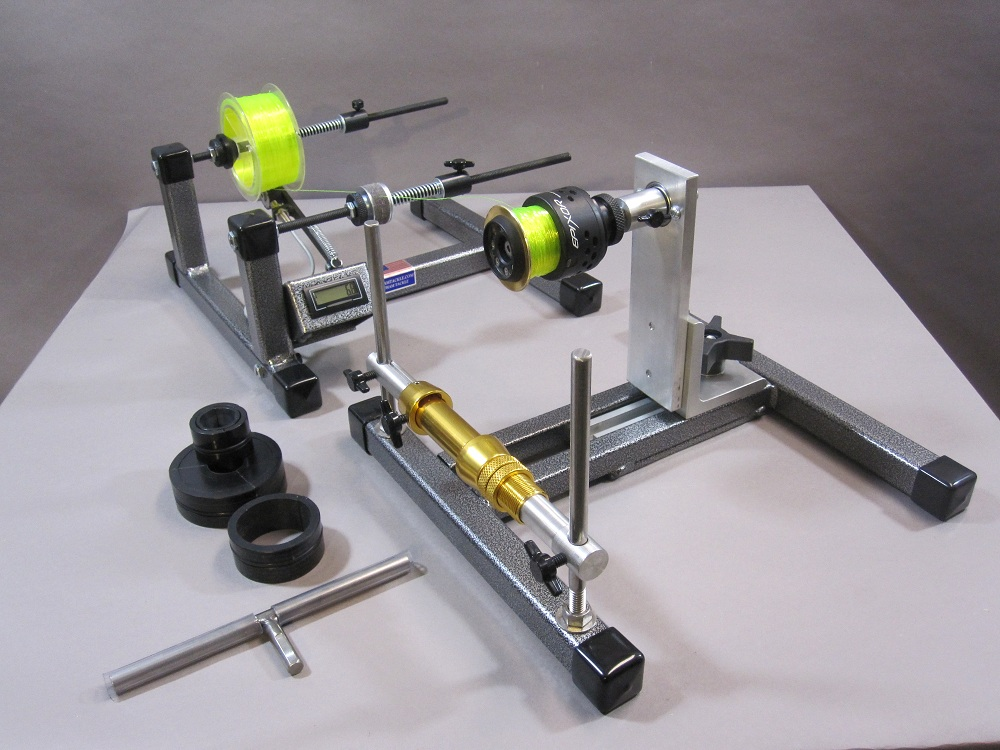 reel winder ii with super spooler line counter