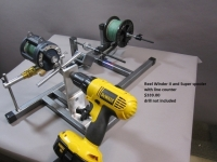 Reel Winder II / with Super Spooler/ Line Counter/ Spinning Reel Kit
