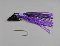 Deep Six Pirate Plug 8oz Unrigged Black and Purple