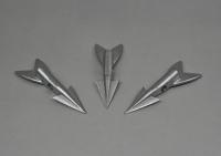 Harpoon dart stainless steel Lot of 3