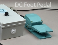 DC Foot Control Pedal Add-On Must be purchased with Motor Unit