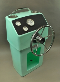 Revolution PD Boat Console in Seafoam