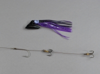 Pirate Plug Purple/Black Rigged PP-004