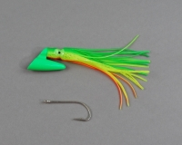 Pirate Plug Green/Pumpkin Seed Un-Rigged PP-082 UR