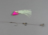 Pirate Plug Glow Pink Rigged PP264