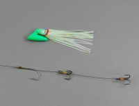 Pirate Plug Glow Green Rigged PP282