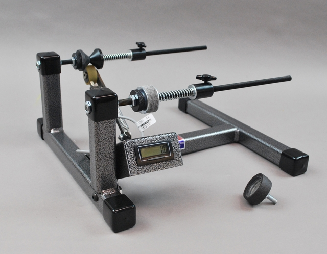 Line winder with digital line counter south chatham tackle for Fishing line winder machine